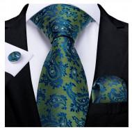 Set cravata + batista + butoni - matase 100% - model 207