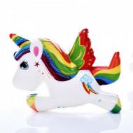 Squishy ieftina jucarie parfumata calut unicorn - Model 2