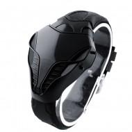 Ceas barbatesc LED stil Cobra - negru