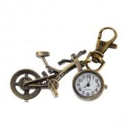 Ceas - breloc - forma bicicleta