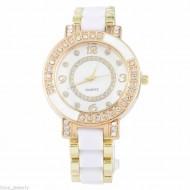 Ceas dama Luxury White