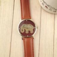 Ceas dama model elefant auriu - maro