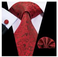 Set cravata + batista + butoni - matase 100% - model 139