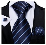 Set cravata + batista + butoni - matase 100% - model 149