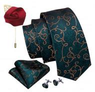 Set cravata + batista + butoni - matase 100% - model 174
