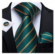 Set cravata + batista + butoni - matase 100% - model 183