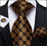 Set cravata + batista + butoni - matase 100% - model 187