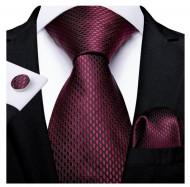 Set cravata + batista + butoni - matase 100% - model 208