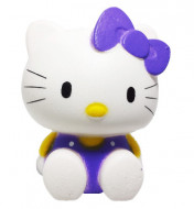 Squishy Jumbo ieftina model pisicuta cu fundita, mov