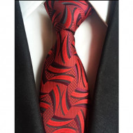Model 19 - cravata matase naturala 100%, tesatura jaquard + cutie cadou
