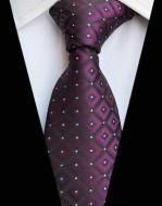 Model 58 - cravata matase 100%, tesatura jaquard