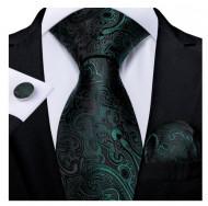 Set cravata + batista + butoni - matase 100% - model 150