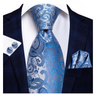 Set cravata + batista + butoni - matase 100% - model 165