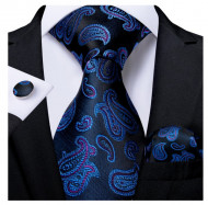 Set cravata + batista + butoni - matase 100% - model 184