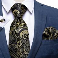 Set cravata + batista + butoni - matase 100% - model 200
