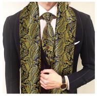 Set cravata + esarfa / fular din matase