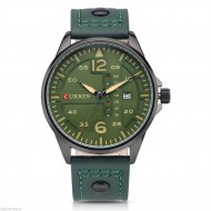 Ceas barbatesc Curren 8224, afisaj data (dark green) - cod: #CR 011