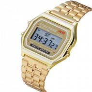 ceas barbatesc ieftin digital auriu