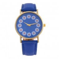 Ceas dama Each hour a flower - Blue