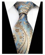 Model 29 - cravata matase naturala 100%, tesatura jaquard
