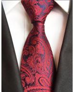 Model 42 - cravata matase naturala 100%, tesatura jaquard