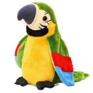 Papagalul vorbitor, 29 cm, jucarie interactiva, multicolora, model 1