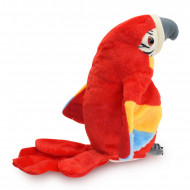 Papagalul vorbitor, 29 cm, jucarie interactive, multicolora