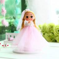 Papusa, Printesa uimita, cu rochita roz