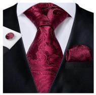 Set cravata + batista + butoni - matase 100% - model 151