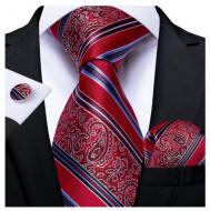 Set cravata + batista + butoni - matase 100% - model 156