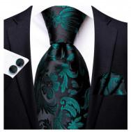 Set cravata + batista + butoni - matase 100% - model 193