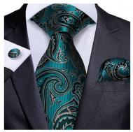 Set cravata + batista + butoni - matase 100% - model 210