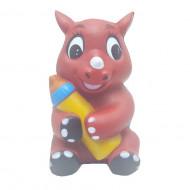 Squishy parfumata model pui de rinocer cu biberon