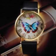 Ceas dama Butterfly Feery - negru