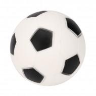 Jucarie Squishy ieftina, model minge de fotbal, alba