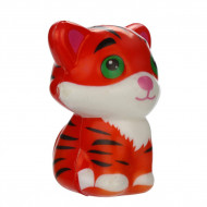 Jucarie Squishy parfumata, model tigrisor