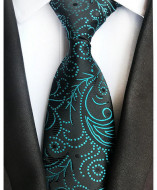 Model 43 - cravata matase naturala 100%, tesatura jaquard