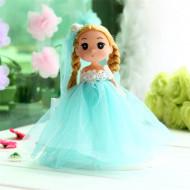 Papusa, Printesa uimita, cu rochita bleu