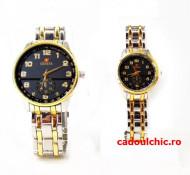 Set 2 ceasuri Geneva pentru Ea si El - Eleganta si stil la un super pret + cutie originala cadou