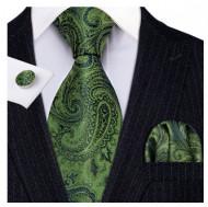 Set cravata + batista + butoni - matase 100% - model 132