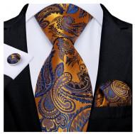 Set cravata + batista + butoni - matase 100% - model 157