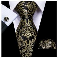 Set cravata + batista + butoni - matase 100% - model 167