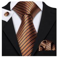 Set cravata + batista + butoni - matase 100% - model 185