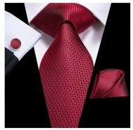 Set cravata + batista + butoni - matase 100% - model 194
