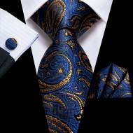 Set cravata + batista + butoni - matase 100% - model 201