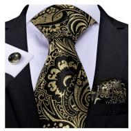 Set cravata + batista + butoni - matase 100% - model 211