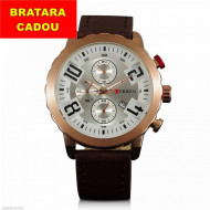 Ceas barbatesc Curren 8193, afisaj data - cod: #CR 003