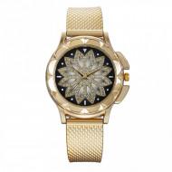 Ceas dama Golden Star cu cristale