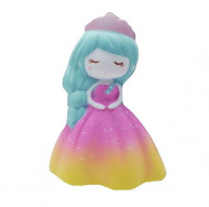 Jucarie Squishy, parfumata, model Delicate Princess, multicolora
