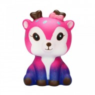 Jucarie Squishy parfumata, model Galactic Deer